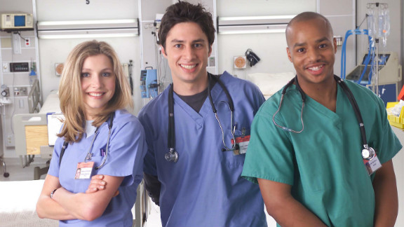 This medical comedy plodded along on NBC for years, indulging in fantasy sequences and even a musical episode. ABC, which owned the series, picked it up for an eighth season, the end of which was written as a series finale. However, ABC wanted more. The ninth season might as well have been a spinoff, with an entirely new cast and the occasional appearance from Zach Braff and Donald Faison. It was a short-lived experiment, however, ending after 13 episodes.