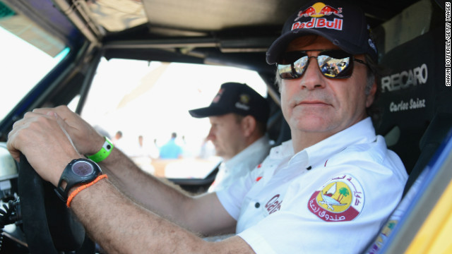Carlos Sainz of Spain claimed the first special stage of the 2013 Dakar Rally in Peru.