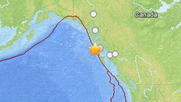 A strong earthquake struck off the coast of Alaska on Saturday, January 5, 2013.
