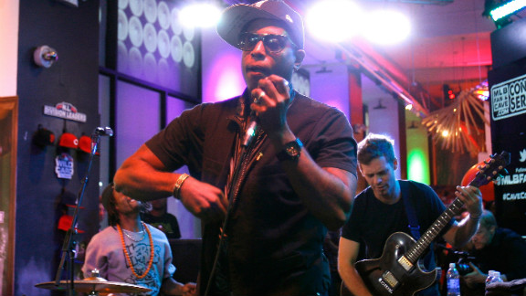"""What about Talib Kweli? As the article stated, even Jay-Z admits to his lyrical ability. He's never been huge in mainstream rap, but the guy is unbelievable on the mic. And his message is positive as well."" - Turdferguson"