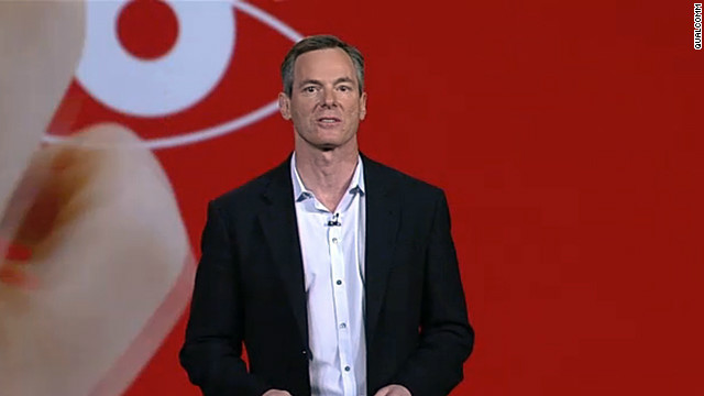 Qualcomm CEO Paul Jacobs delivering the opening keynote address at the 2013 Consumer Electronics Show.