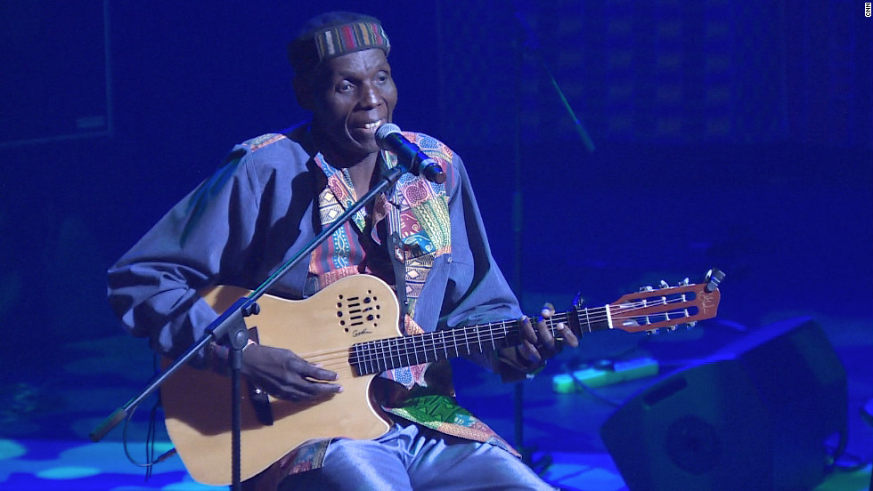 "Mtukudzi's distinct musical style has been described as a mixture of Zimbabwean pop style ""jit"" and South African township pop. ""Where I come from you don't get to sing a song if you have nothing to say,"" he says. ""So every song has something to do with that man in the street, he must be able to use it in his life."""