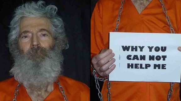 New pictures have been released by the family of American and retired FBI agent Robert Levinson who vanished during a business trip to Iran