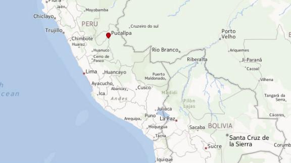 Map: Pucallpa