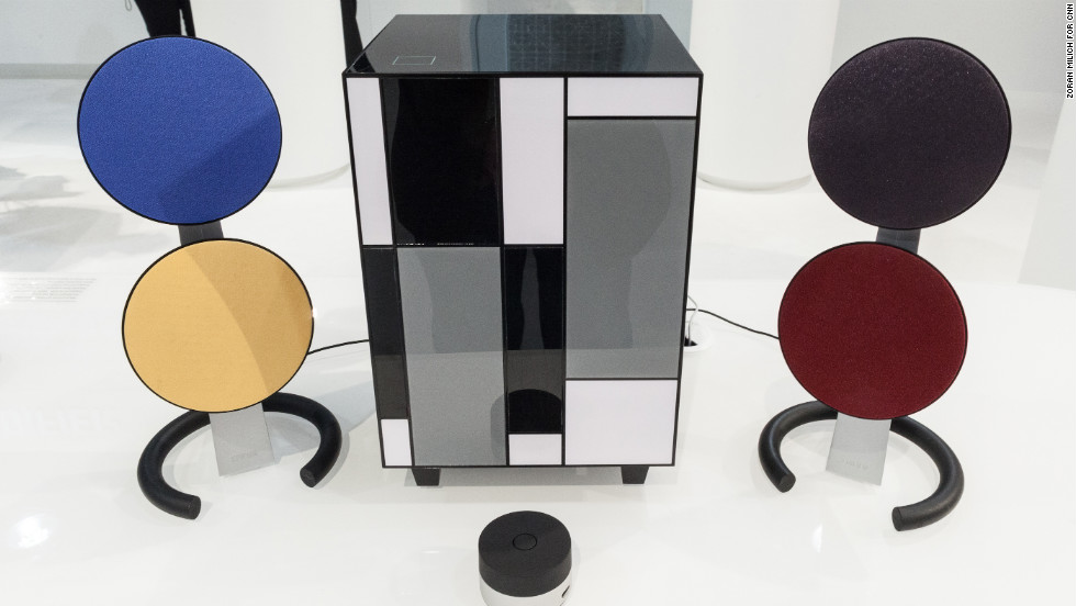 Edifier makes this Art Deco-styled multimedia speaker system. No price was announced.
