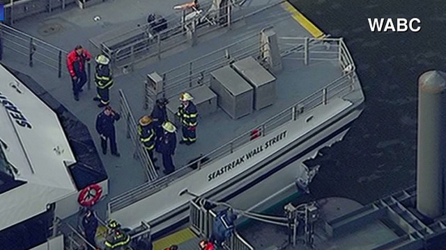 Ferry witness: People thrown into air