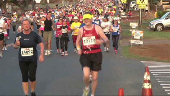 Don Wright ran 50 marathons in 50 states -- all while battling cancer. Read more.