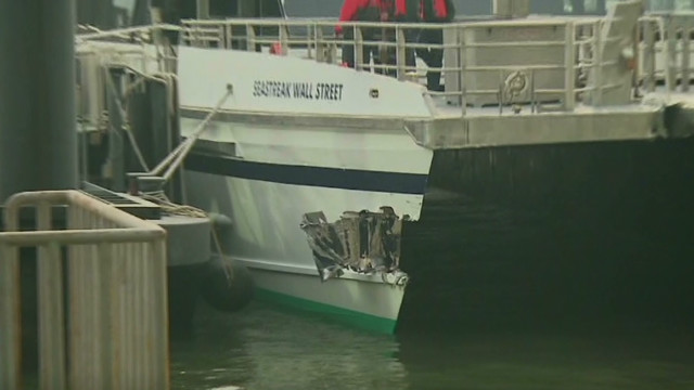 Coast Guard: 85 hurt in ferry accident
