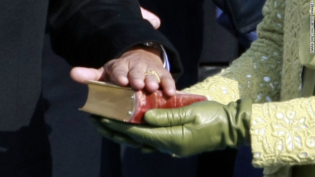 Obama sworn in on koran snopes