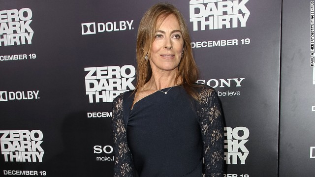 "Kathryn Bigelow arrives at the Hollywood premiere of ""Zero Dark Thirty"" on December 10, 2012."