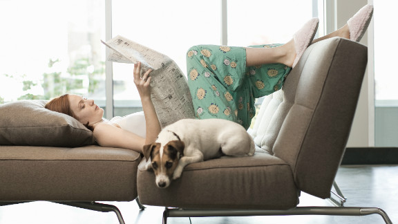 Dr. Matthew Sleeth says kicking back for one day a week can make people healthier.