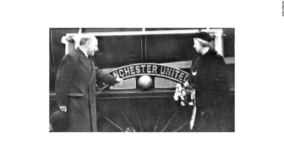 Gibson and his wife Lillian, had a train named after the football club. Gibson ensured supporters had a far smoother journey to Old Trafford after having steps built up from the local train station to the stadium, while he also had trains make unscheduled stops to help fans make it in time for kick off.