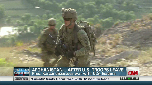 Future of Afghan war being decided