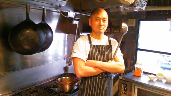 Chef Shigeki Koshiba is wary of Japan's revolving door leadership.