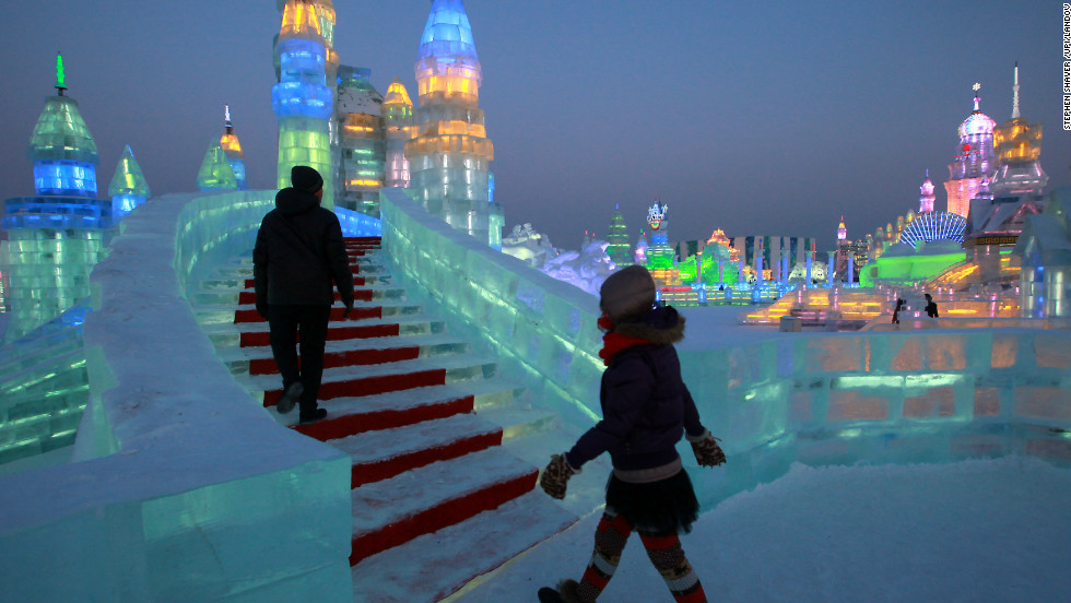 The 14th Harbin Ice and Snow Festival, touted as the world's biggest festival of its kind, opened in China's northern Heilongjiang province on Monday, January 7.