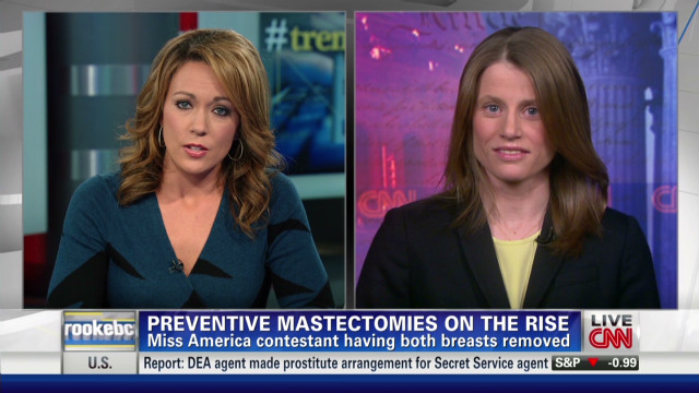 Double mastectomies on the rise