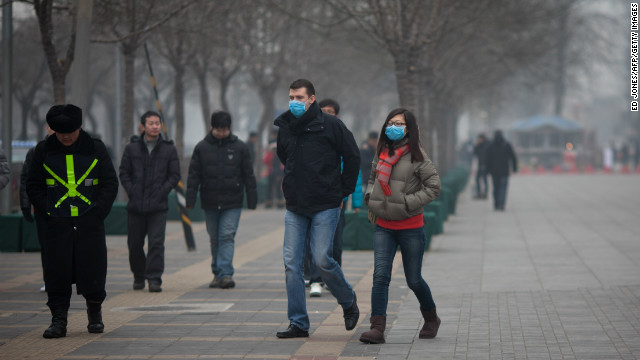 Greenpeace on Beijing's hazardous smog