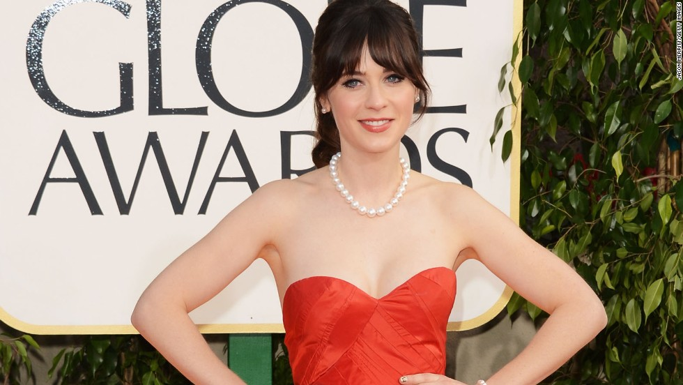 4. Zooey Deschanel