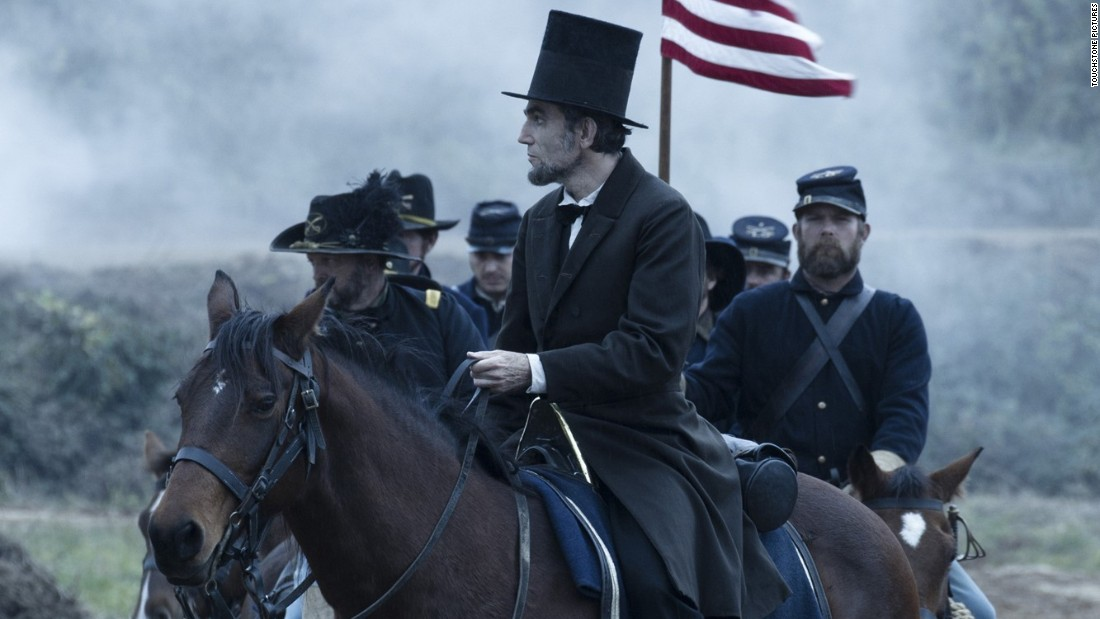 "Daniel Day-Lewis won the best actor Academy Award in 2013 for playing the 16th U.S. president in ""Lincoln,"" which also took home the production design Oscar. The Steven Spielberg-directed drama also stars British actor Jared Harris as Ulysses S. Grant."