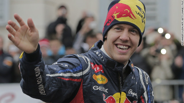 Sebastian Vettel is hoping to make it four in a row when the new seasons starts in Australia on March 17.