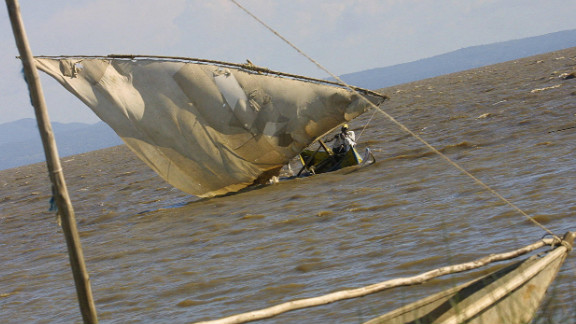 But fishermen are often at risk because the lake's erratic weather conditions cause frequent accidents.