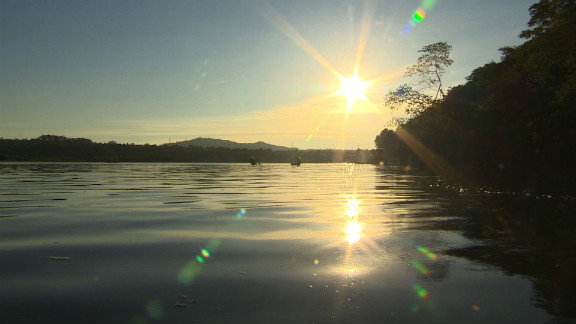 Lake Victoria is Africa's largest freshwater body. It is shared by three countries -- Uganda, Tanzania and Kenya.
