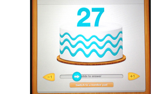 The Tonic tablet has interactive features to overcome language and literacy barriers. For instance, it uses a birthday cake slider to ask for patients