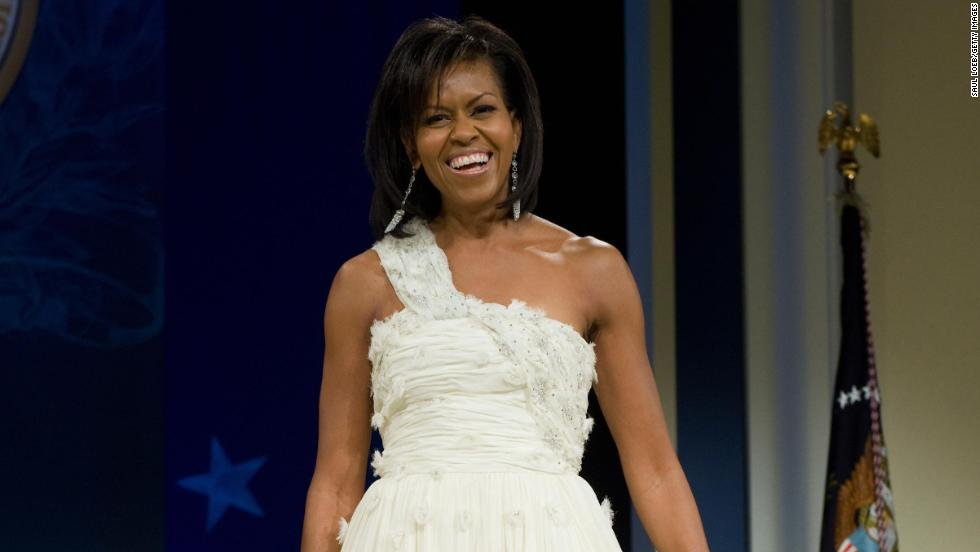 Inaugural gown is the main attraction - CNN