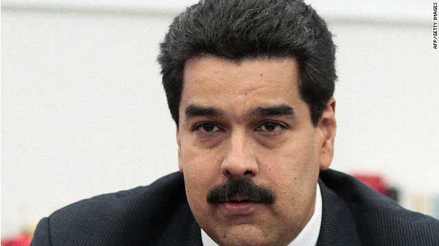 Venezuelan Vice President Nicolas Maduro told supporters Wednesday his opponents were plotting to murder him.