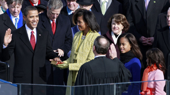 Public opinion was divided on the lemongrass shift by Cuban-American designer Isabel Toledo that the first lady wore to her husband's swearing-in on January 20, 2009.