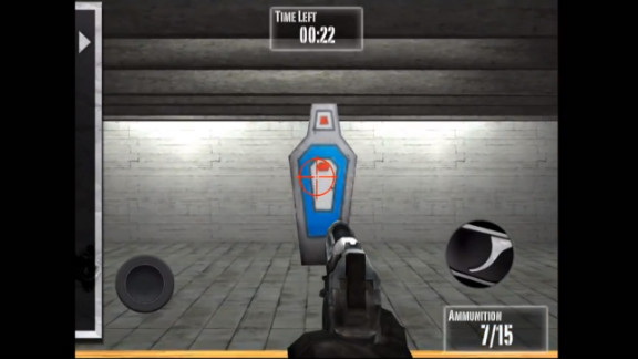 """The National Rifle Association has released a video game, """"Practice Range,"""" a month after the Newtown, Connecticut, massacre."""