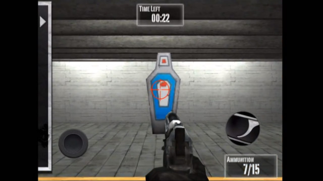 "The National Rifle Association has released a video game, ""Practice Range,"" a month after the Newtown, Connecticut, massacre."