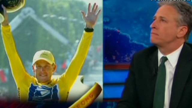 'Daily Show': Armstrong is 'Mr. Fibb'