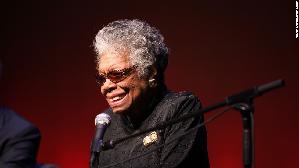 "After Frost in 1961, poets were left out of presidential inauguration ceremonies until Bill Clinton took the oath of office in 1993. Maya Angelou read ""On the Pulse of Morning."" A recording of the poem later won a Grammy for best spoken word. Here is an excerpt of the poem:<br /><br />Lift up your faces, you have a piercing need<br />For this bright morning dawning for you.<br />History, despite its wrenching pain,<br />Cannot be unlived, and if faced<br />With courage, need not be lived again.<br />Lift up your eyes upon<br />The day breaking for you.<br />Give birth again<br />To the dream."