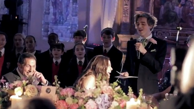 Groom Sings Viral Toast To Bride