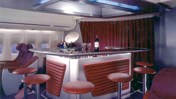 Virgin Atlantic was the first airline to introduce standing bars on board their planes. The company considered adding in-fight casinos to its offerings, but has since abandoned the idea.