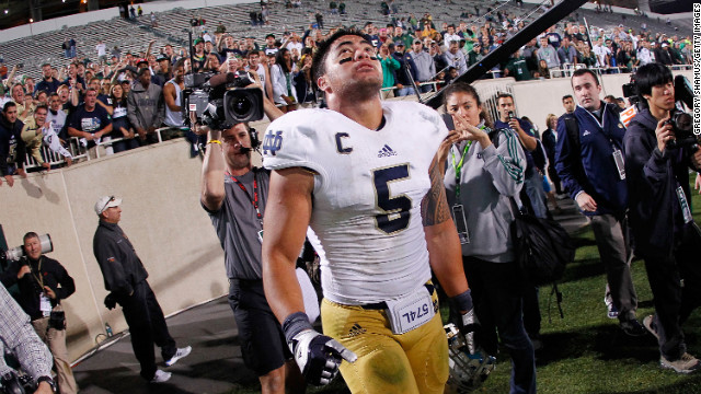 Te'o to Couric: 'What would you do?'