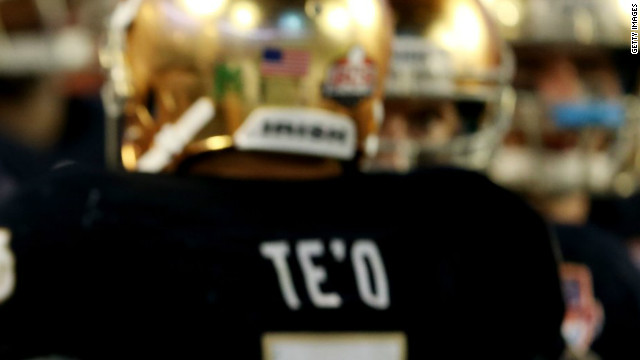 Te'o's girlfriend who 'died' never existed