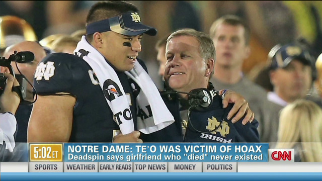 Notre Dame stands behind Te'o
