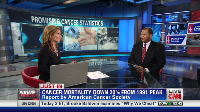 New report: Cancer deaths dropping