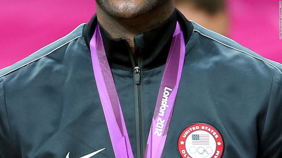 LeBron became the USA's all time top scorer during the 2012 London Olympics as his team beat Spain in the final to take gold, just as they had done four years previously in Beijing.
