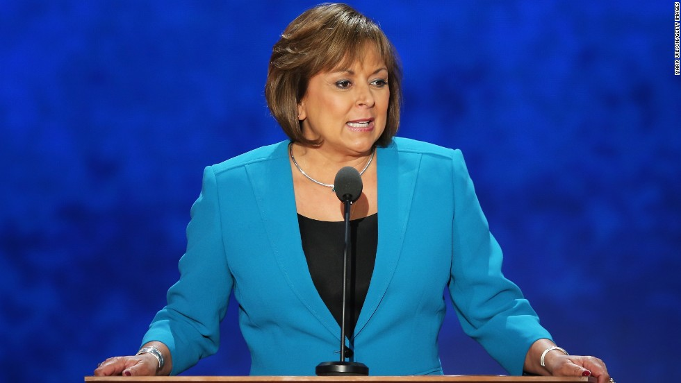 New Mexico Gov. Susana Martinez, the first female Hispanic governor, was a Democrat until 1995. Martinez shared the story of how she became a Republican at the 2012 Republican National Convention.