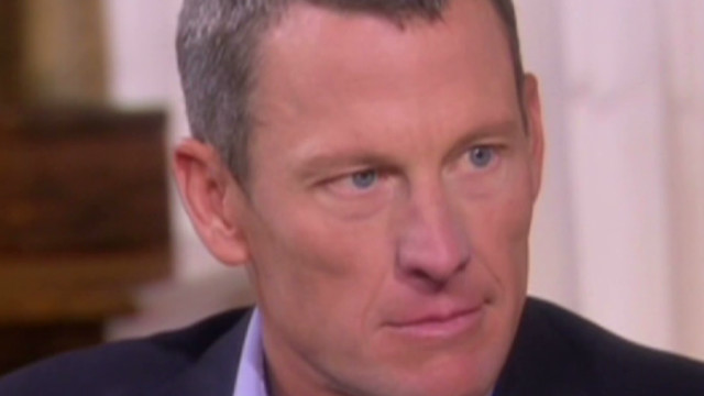 Armstrong: I doped for Tour de France