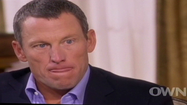 Armstrong's body language examined