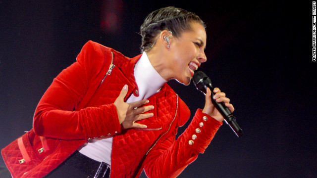 """We can't act like it's not happening,"" Alicia Keys says of HIV. ""We have to make sure we know that we're all at risk."""