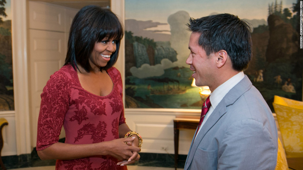 "Who could have predicted that <a href=""http://situationroom.blogs.cnn.com/2013/01/17/first-lady-reveals-new-look/?hpt=sr_bn4""> Michelle Obama's bangs </a>would become one of the most talked-about developments at the start of 2013. The first lady debuted her new look as she celebrated her 49th birthday in January and joked in a national interview that <a href=""http://situationroom.blogs.cnn.com/2013/02/20/first-lady-bangs-are-my-midlife-crisis/?hpt=sr_bn3"">her bangs were part of a midlife crisis.</a> In a <a href=""http://www.ivillage.com/michelle-obama-oscars-lets-move-and-her-bangs-0/1-a-524799"" target=""_blank"">February interview,</a> she laughed off all the analysis surrounding her new 'do. ""It's a haircut! I'm sorry. I don't know what to tell you,"" she said."