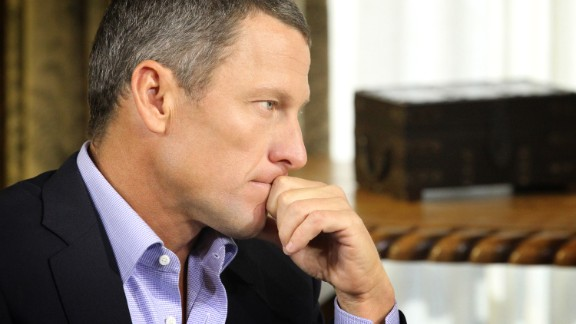 Cyclist Lance Armstrong lost his seven Tour de France titles and received a lifetime ban by the U.S. Anti-Doping Agency after he declared in 2012 that he wouldn