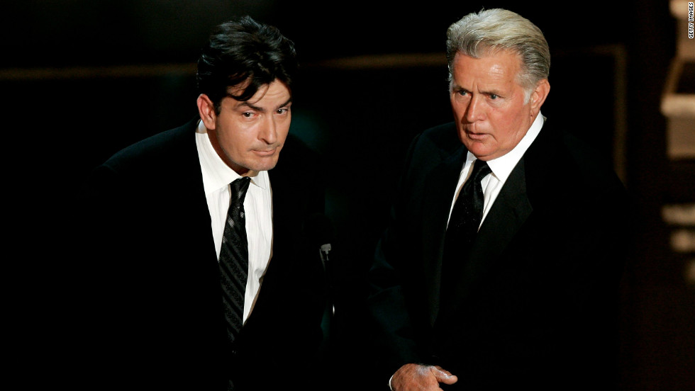 Charlie Sheen Emilio Estevez Mother