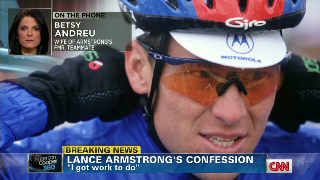 Critic: Armstrong has to pay the price