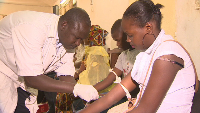 Malians support troops with blood drive